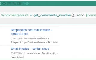 Contagem de comentários no seu site do Wordpress sem plugin