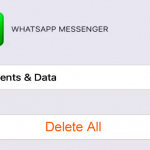 Excluir os backups do WhatsApp no iCloud