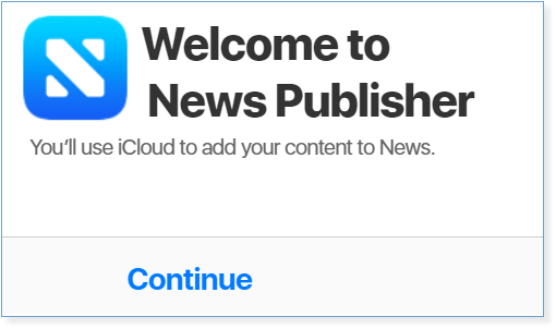Apple News Publisher