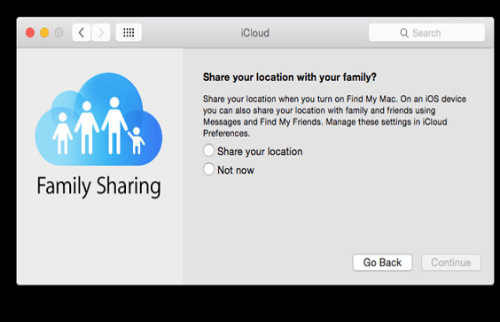 Configurar o Family Sharing no Mac