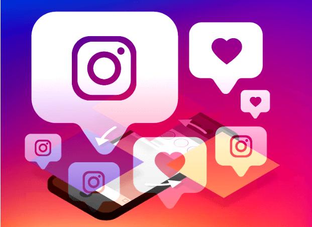 interagir com outros usuários do Instagram