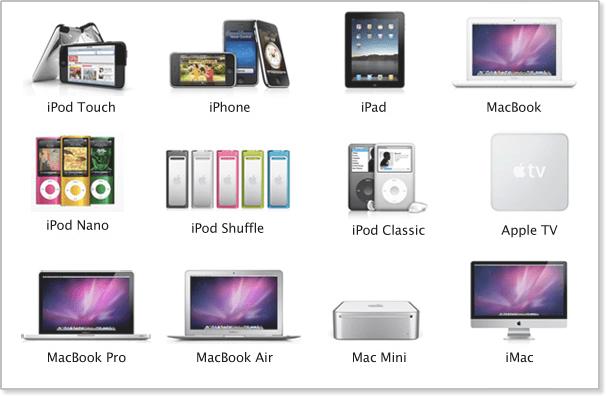 O que fazer com seus dispositivos antigos da Apple