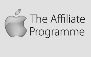 Programa de afiliados da Apple