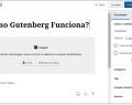 Como o editor Gutenberg funciona no WP
