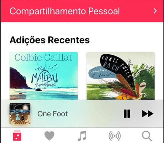Compartilhar conteúdo da App Store no iPhone