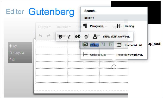Gutenberg é o novo editor WordPress