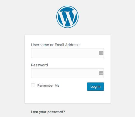 Como mudar o logo da página WP Login