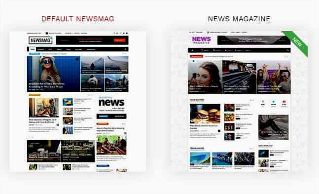 Tema NewsMag para WordPress