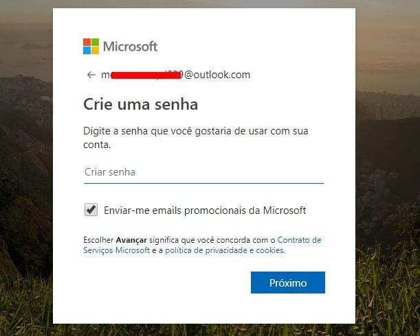 Como criar uma nova conta de e-mail do Outlook.com