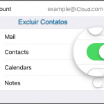 Como excluir ou apagar um contato no iCloud