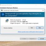 Configurar o iCloud Drive no Windows 10