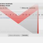 Configurar uma resposta automática de ausência no Gmail