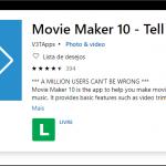 O que é o Movie Maker 10?