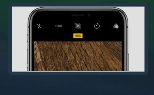 Como desativar o Smart HDR no iPhone