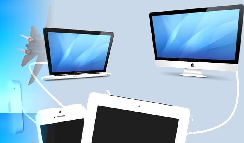 Sincronizar o iPhone com 2 Mac ou mais