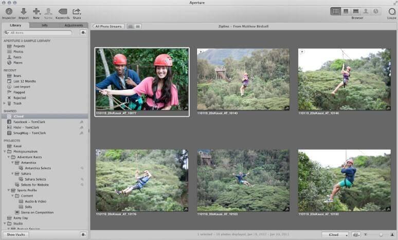 Crie fluxos de fotos compartilhados no iCloud