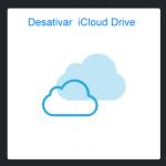 Como faço para desativar o iCloud Drive?