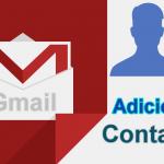 Como adicionar novos contatos no Gmail