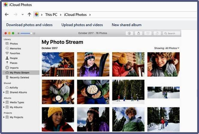 iCloud Photos vs. My Photo Stream