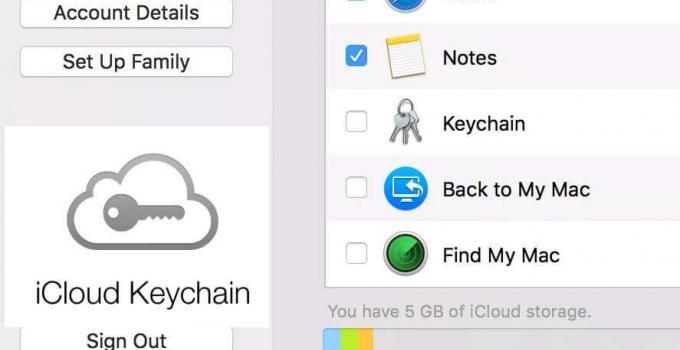 Como configurar o iCloud Keychain no seu Mac