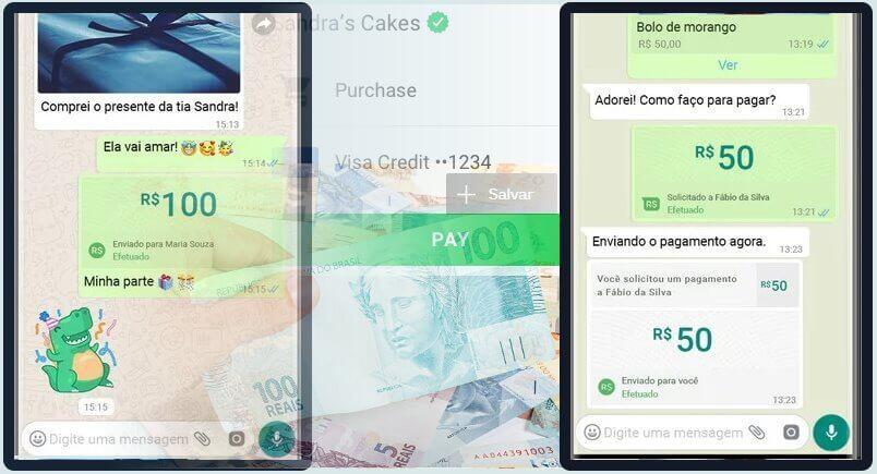 WhatsApp Pay como funciona o sistema de pagamento