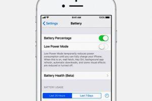 Como economizar bateria no iPhone