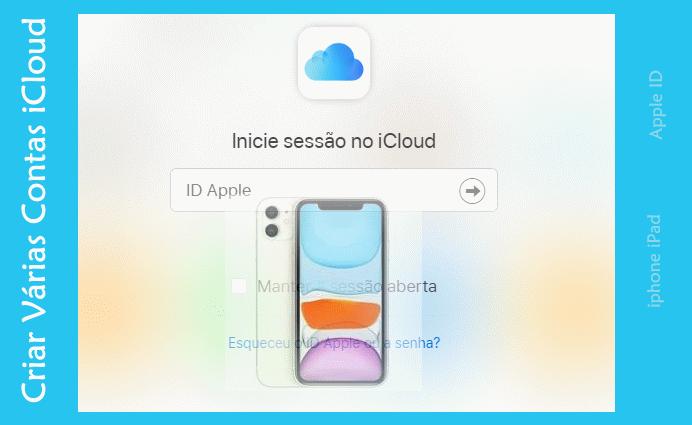 Criar Várias Contas iCloud