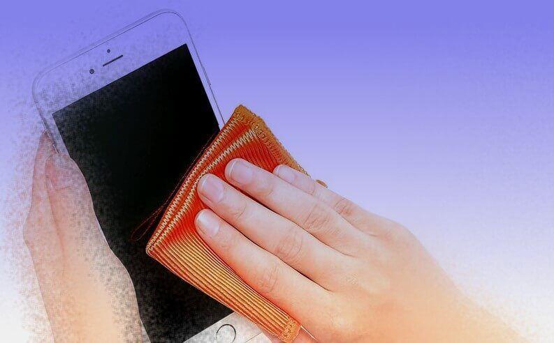 Como limpar e higienizar seu iPhone