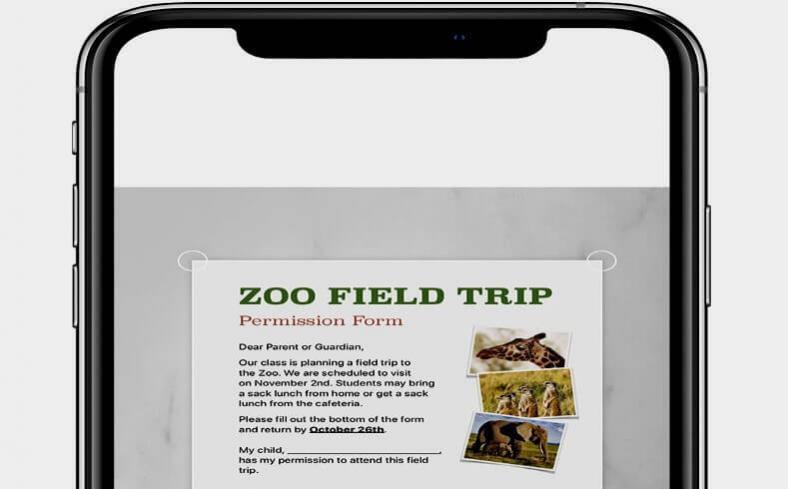 Como escanear documentos no iPhone, iPad