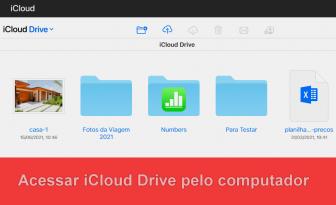 Como usar o iCloud Drive sem possuir qualquer dispositivo da Apple