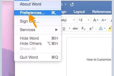 Como alterar o tema do Microsoft Office no Mac