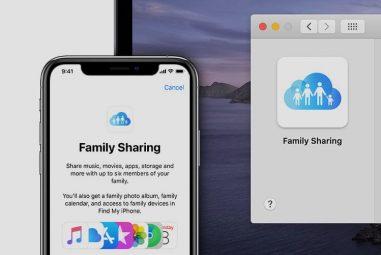 Como dividir o espaço de armazenamento iCloud com a família