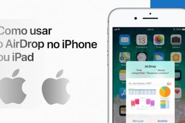 Como usar o AirDrop no iPhone e no iPad