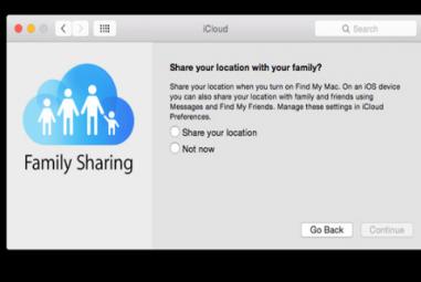 Configurar o Family Sharing no Mac