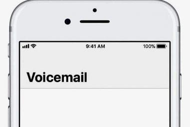 Acessar o correio de voz do meu iPhone em outro telefone