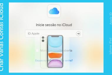Criar Várias Contas iCloud no iPhone iPad e Mac