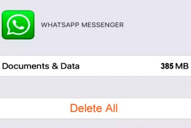 Excluir os backups do WhatsApp no iCloud