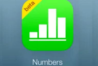 Numbers para iCloud : cloud apps