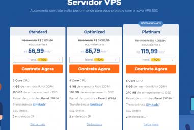 Qual é a Melhor Hospedagem VPS do Brasil para hospedar meu site