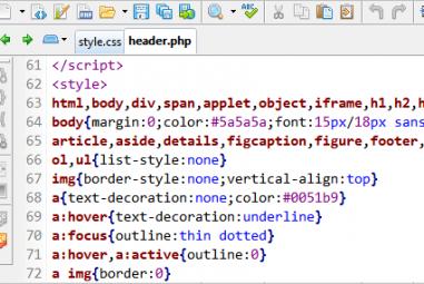Acelerar o carregamento de um site WordPress embutindo o CSS