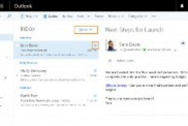 Microsoft Outlook Vai Trabalhar Mais Parecido Com Facebook