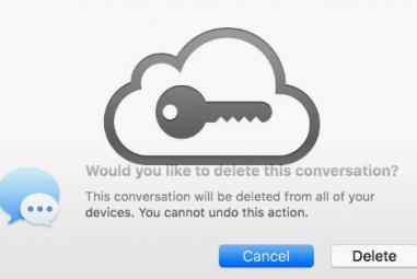 Qual é a segurança das mensagens no iCloud?