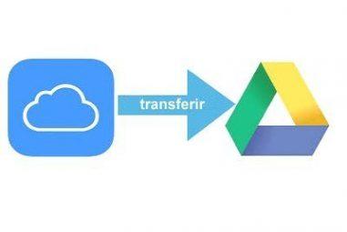 Como transferir arquivos do iCloud Drive para o Google Drive