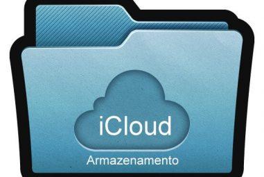 Usando iCloud para Armazenamento Geral em Nuvem