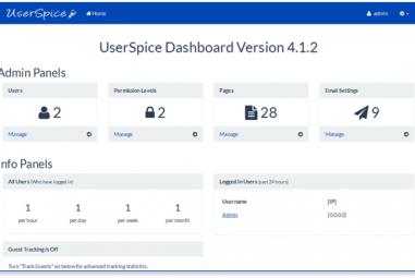 Como é a Hospedagem de Site com UserSpice